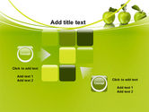 Green Apples PowerPoint Template#16
