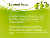 Green Apples PowerPoint Template#2