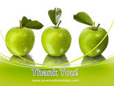 Green Apples PowerPoint Template#20