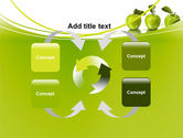 Green Apples PowerPoint Template#6
