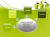 Green Apples PowerPoint Template#7