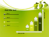 Green Apples PowerPoint Template#8