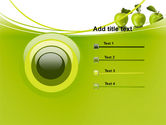 Green Apples PowerPoint Template#9