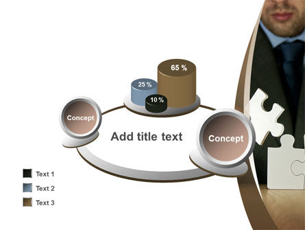 Puzzle Assembled PowerPoint Template Slide 16