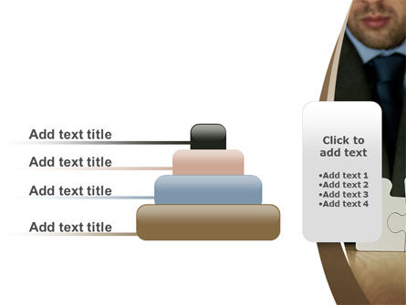 Puzzle Assembled PowerPoint Template Slide 8