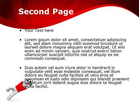 Goalie PowerPoint Template, Slide 2, 09064, Sports — PoweredTemplate.com