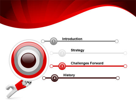 Goalie PowerPoint Template, Slide 3, 09064, Sports — PoweredTemplate.com