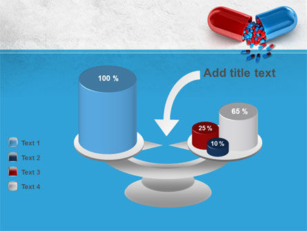 Red And Blue Pilule PowerPoint Template Slide 10