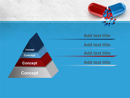 Red And Blue Pilule PowerPoint Template Slide 12