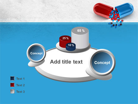 Red And Blue Pilule PowerPoint Template Slide 16