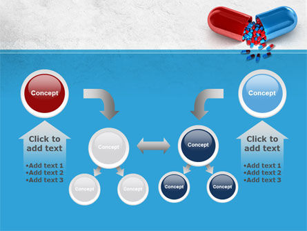 Red And Blue Pilule PowerPoint Template Slide 19