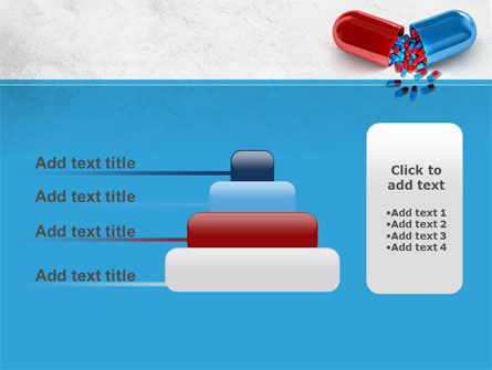 Red And Blue Pilule PowerPoint Template Slide 8