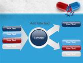 Red And Blue Pilule PowerPoint Template#14