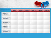Red And Blue Pilule PowerPoint Template#15