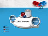 Red And Blue Pilule PowerPoint Template#16