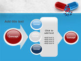 Red And Blue Pilule PowerPoint Template#17