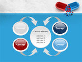 Red And Blue Pilule PowerPoint Template#6