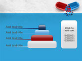 Red And Blue Pilule PowerPoint Template#8