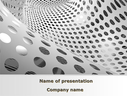 Grate Surface PowerPoint Template