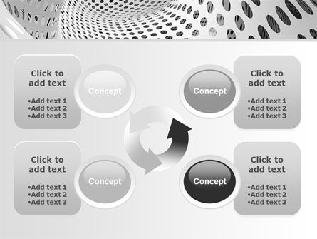 Grate Surface PowerPoint Template Slide 9