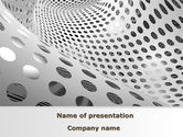 Abstract/Textures: Grate Surface PowerPoint Template #09067