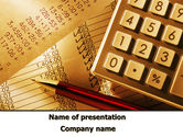 Financial/Accounting: Investment Councilor PowerPoint Template #09071