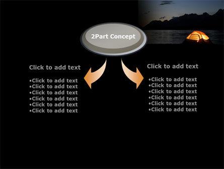 Quiet Lake PowerPoint Template, Slide 4, 09073, Health and Recreation — PoweredTemplate.com