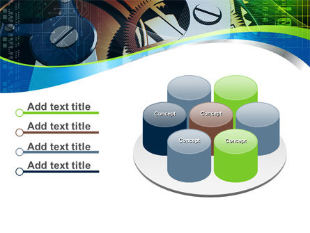 Watch Mechanism PowerPoint Template Slide 12