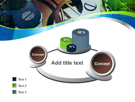 Watch Mechanism PowerPoint Template Slide 6