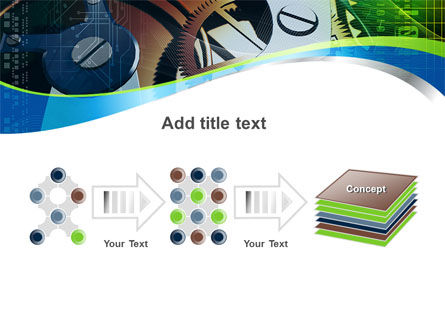 Watch Mechanism PowerPoint Template Slide 9
