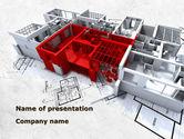 Construction: Modèle PowerPoint de remodelage de bâtiments multi-étages #09075