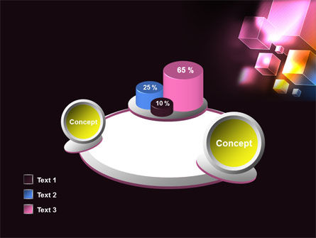 Abstract Cubes PowerPoint Template Slide 16