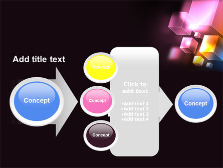 Abstract Cubes PowerPoint Template Slide 17