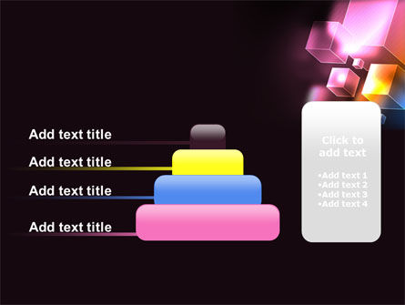 Abstract Cubes PowerPoint Template Slide 8