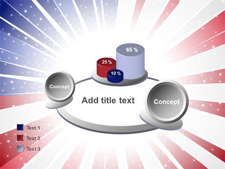 American Flag Stylized PowerPoint Template Slide 16