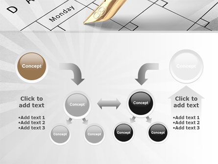 Diary PowerPoint Template Slide 19