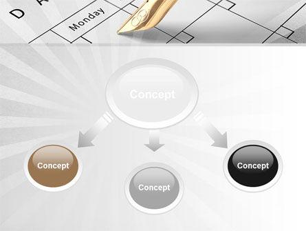 Diary PowerPoint Template, Slide 4, 09081, Business — PoweredTemplate.com