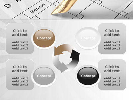 Diary PowerPoint Template Slide 9