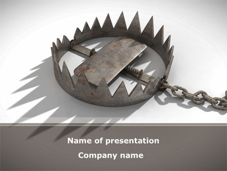 Trap PowerPoint Template, 09083, Nature & Environment — PoweredTemplate.com