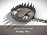 Nature & Environment: Trap PowerPoint Template #09083
