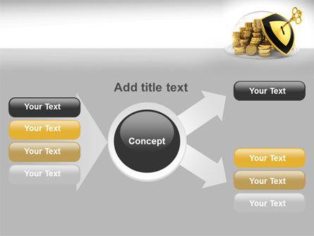 Key Savings Protection PowerPoint Template Slide 14
