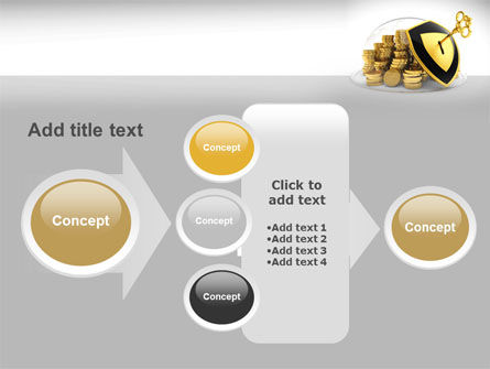 Key Savings Protection PowerPoint Template Slide 17