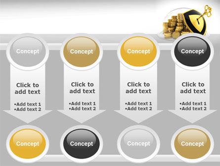 Key Savings Protection PowerPoint Template Slide 18