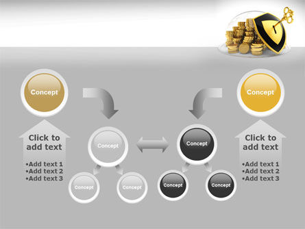 Key Savings Protection PowerPoint Template Slide 19