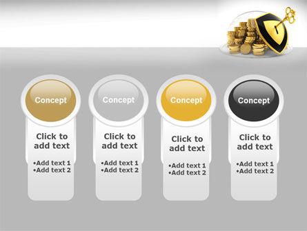 Key Savings Protection PowerPoint Template Slide 5