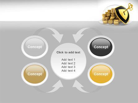 Key Savings Protection PowerPoint Template Slide 6