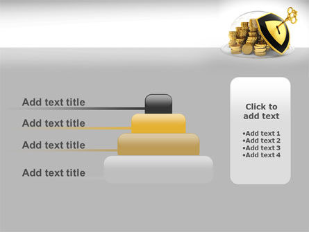 Key Savings Protection PowerPoint Template Slide 8