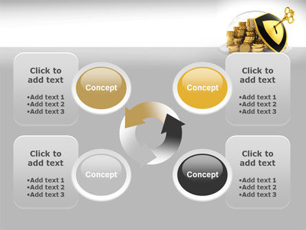 Key Savings Protection PowerPoint Template Slide 9