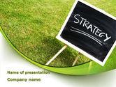 Business Concepts: Strategie Teken PowerPoint Template #09087