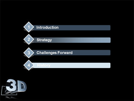 Three Dimensions Visual Technology PowerPoint Template Slide 3